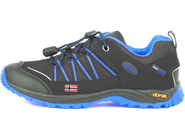 TROLLKIDS Lofoten Hiker Low Shoes Kids anthracite/med blue